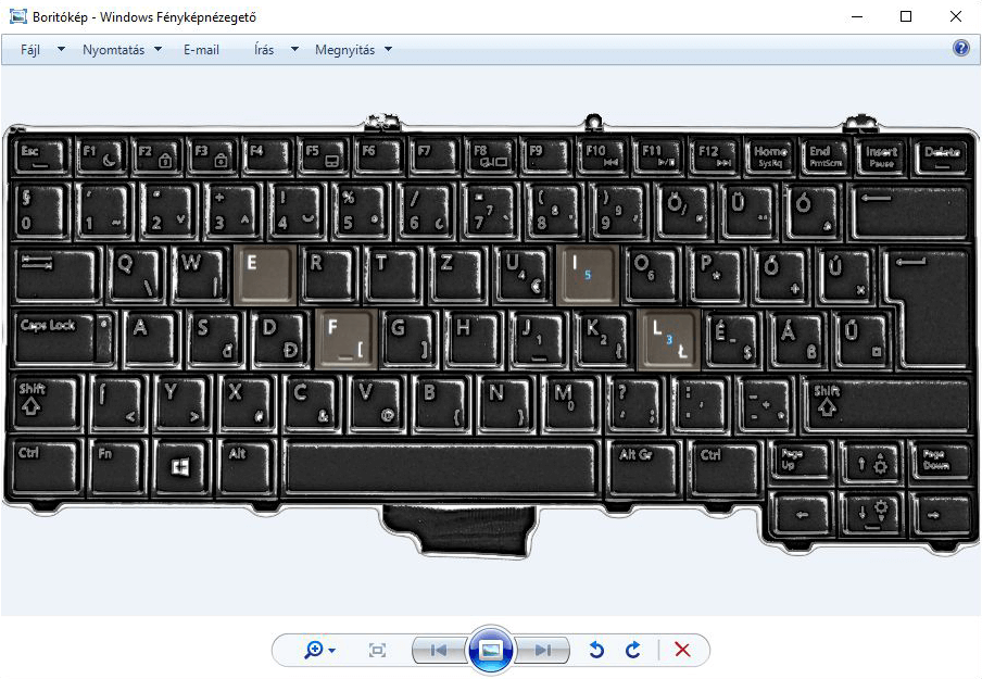 Vissza a jót: Windows 7 képnézegetőt Windows 10-re.